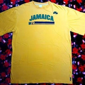 "VTG Nike Air Jamaica S/S T-Shirt Size XXL Tall +2"" Length"
